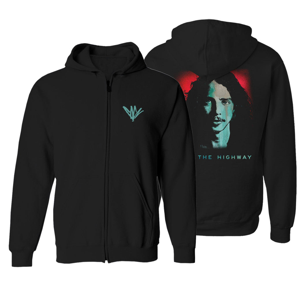 I Am The Highway Hoodie-Chris Cornell