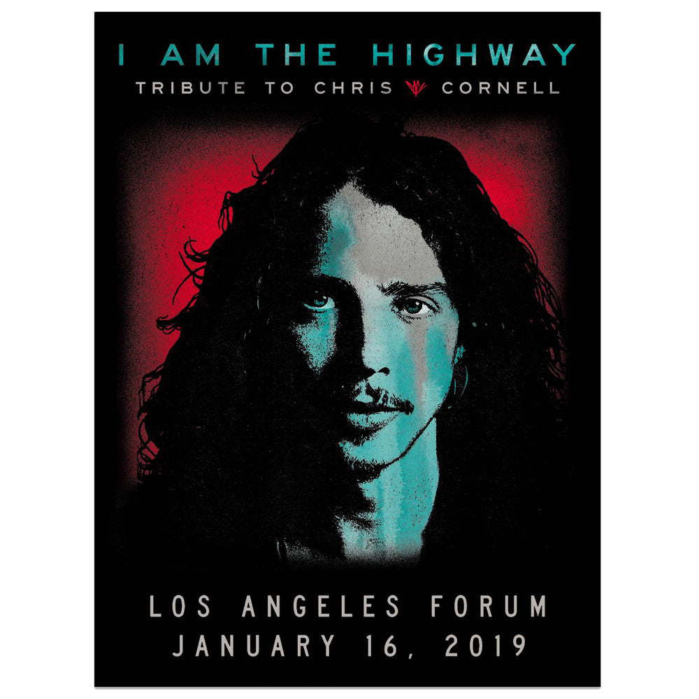 I Am The Highway Tribute Poster-Chris Cornell