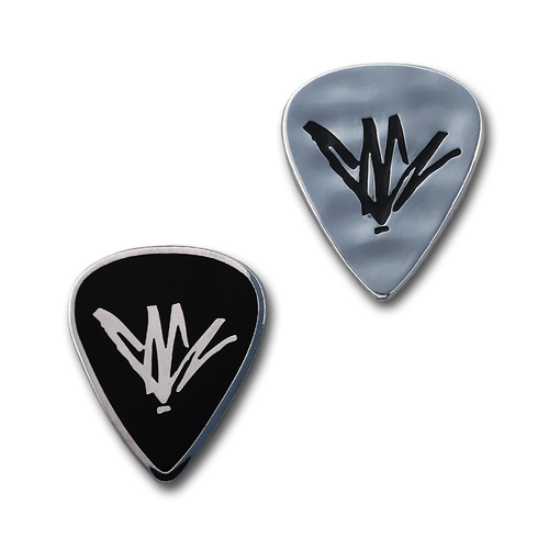 Guitar Pick Pin Set