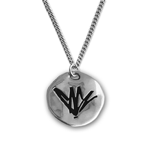 Load image into Gallery viewer, Chris Cornell Engraved Silver Necklace