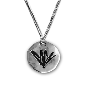 Chris Cornell Engraved Silver Necklace