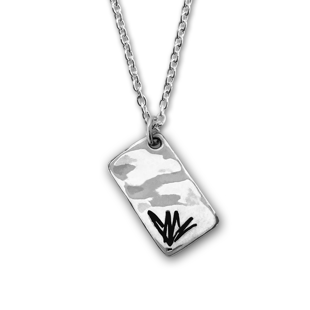 Signature Silver Necklace-Chris Cornell