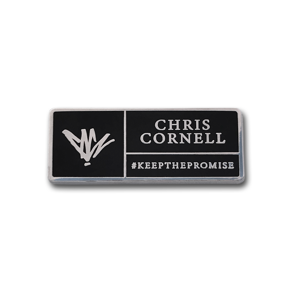 Keep The Promise Pin-Chris Cornell
