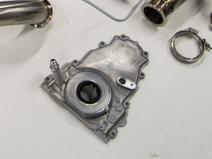 LS Timing Cover Oil Return