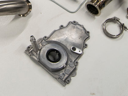 LS-Series Oil Return Timing Cover