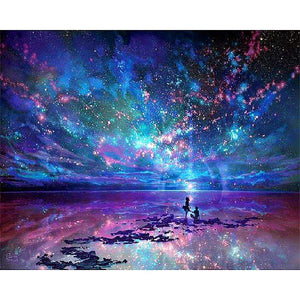 DIY Diamond Painting Kit - Starry Sky-Diamond Painting-Diamond Art Painter-35x45-Diamond Art Painter