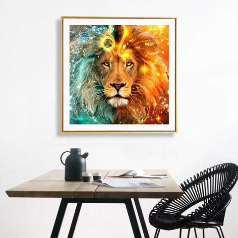 Image of Full Drill 5D Diamond Painting Craft Kit (DIY)-Astrological Animals-Diamond Art Painter