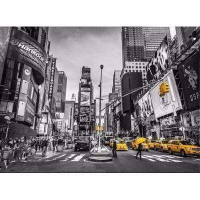Image of 5D Diamond Painting Kit (DIY)- New York City Taxi Diamond Art Painter H118 full square 75x100cm