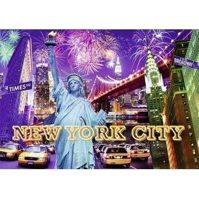 Image of 5D Diamond Painting Kit (DIY)- New York City Taxi Diamond Art Painter H121 full square 75x100cm