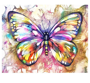 5D DIY Full Drill Diamond Painting Magical Butterfly Cross Stitch Craft Kit