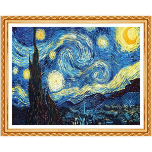 DIY Diamond Painting Kit - A Starry Night
