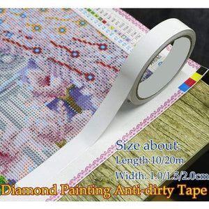 Diamond Painting Adhesive Canvas Tape
