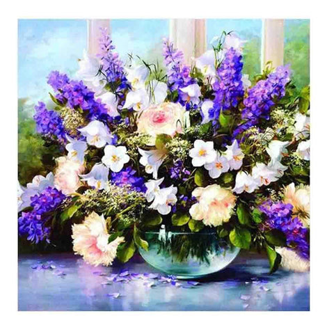 DIY Diamond Painting Kit - Flower Bouquet Diamond Art Painter