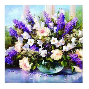 DIY Diamond Painting Kit - Flower Bouquet