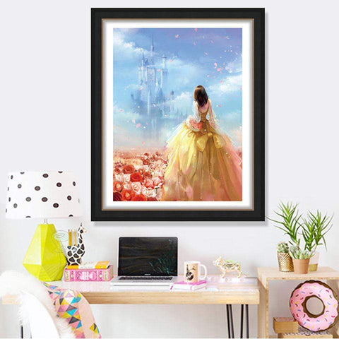 Full Drill 5D Diamond Painting Craft Kit (DIY)- Fairy Princess eprolo