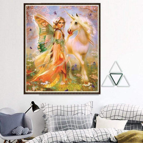 Image of Full Drill 5D Diamond Painting Craft Kit (DIY)- Fairy Princess eprolo