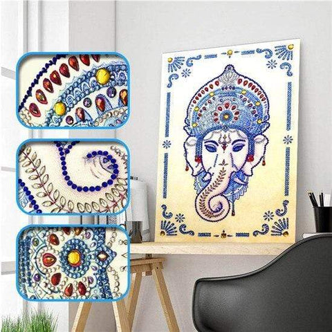 Partial Drill 5D Diamond Painting (DIY) - Assorted Jewel Encrusted Designs eprolo 30x40 30*40cm-15