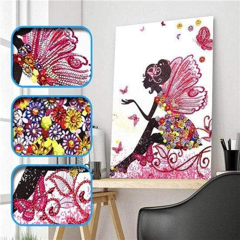 Partial Drill 5D Diamond Painting (DIY) - Assorted Jewel Encrusted Designs eprolo 30x40 30*40cm-5