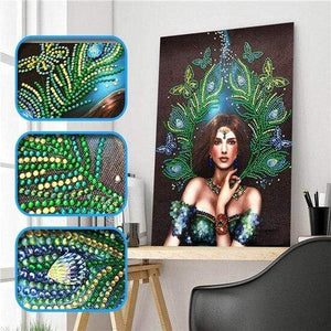 Partial Drill 5D Diamond Painting (DIY) - Assorted Jewel Encrusted Designs eprolo 30x40 30*40cm-6