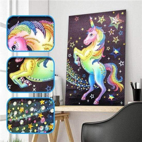 Partial Drill 5D Diamond Painting (DIY) - Assorted Jewel Encrusted Designs eprolo 30x40 30*40cm-7