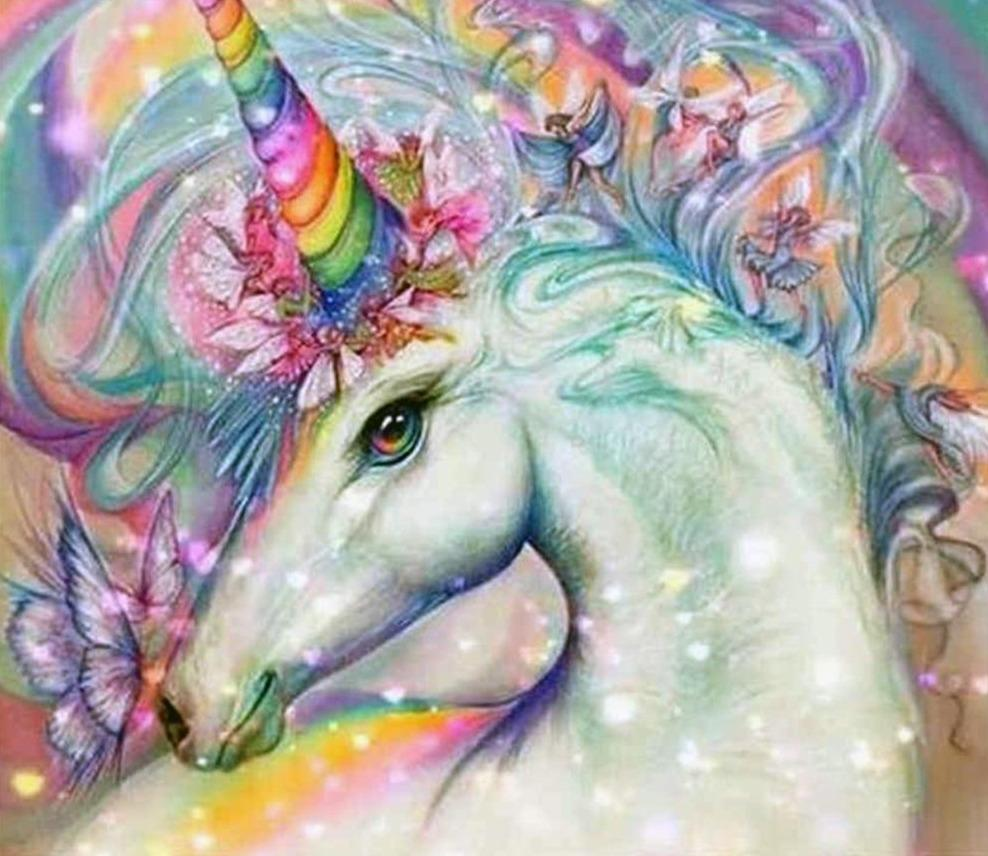 DIY 5D Diamond Painting Kit - Unicorn Fantasy