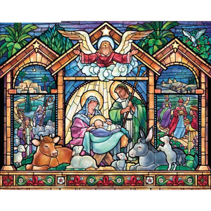 DIY 5D Diamond Painting Kit - Religious Stained Glass