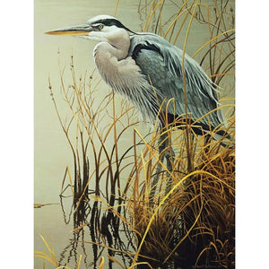 DIY 3D Diamond Painting Kit - Great Blue Heron Bird