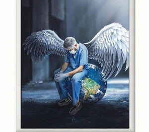 DIY 5D Diamond Painting Craft Kit - Angel Nurses
