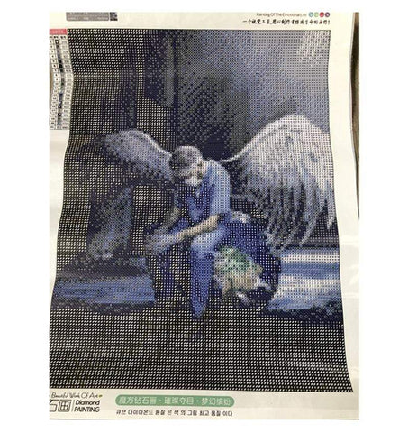 Image of DIY 5D Diamond Painting Craft Kit - Angel Nurses
