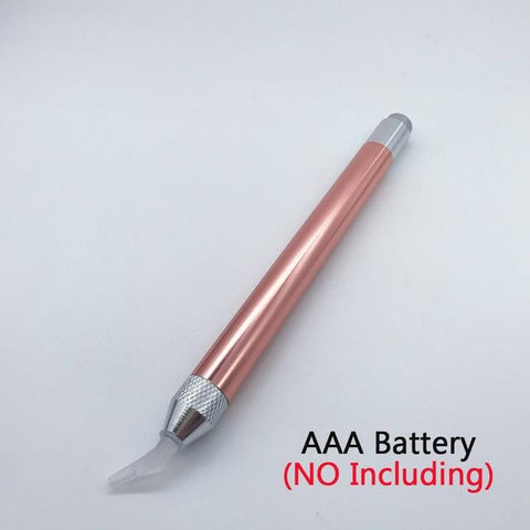 Image of Lighted Angled Diamond Painting Pen Tool