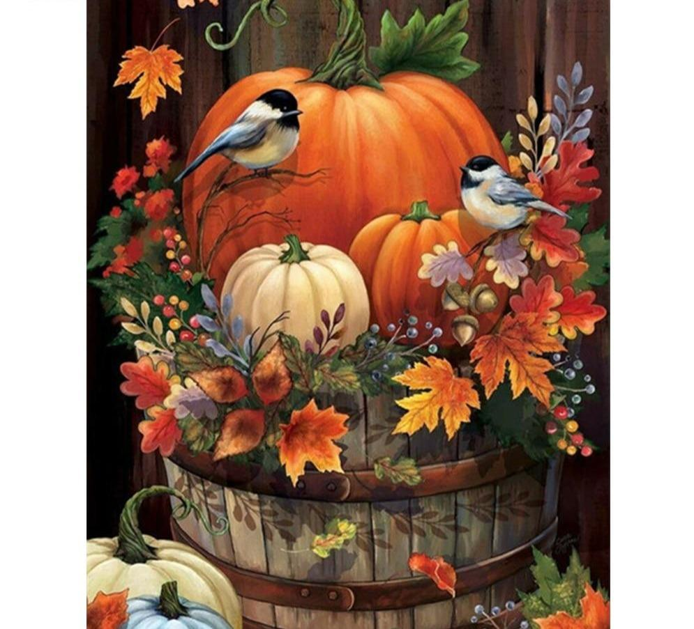 Diy Diamond Painting Kit -Halloween Bird's