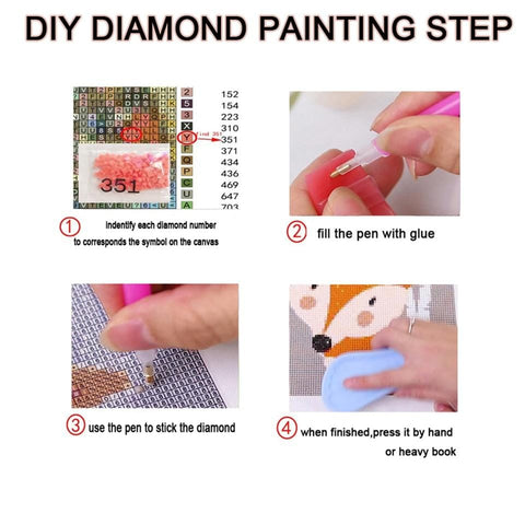 Image of DIY Adult 5D Diamond Painting Craft Kit - Give Thanks