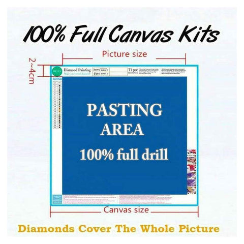 Image of DIY 5D Full Drill Diamond Painting - Protect USA Democracy