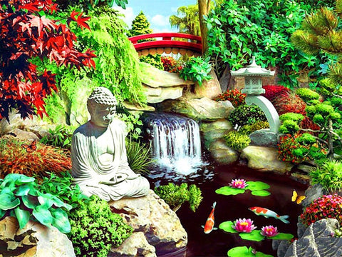 5D DIY Diamond Painting Kit - Buddha