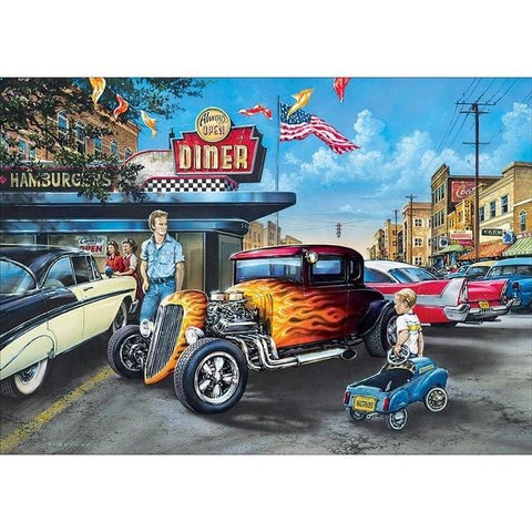 DIY 5D Diamond Painting Kit -Classic Rides