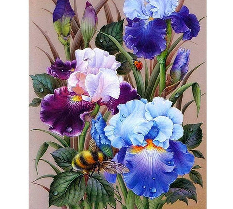 DIY 5D Diamond Painting Kit - Floral Wonder