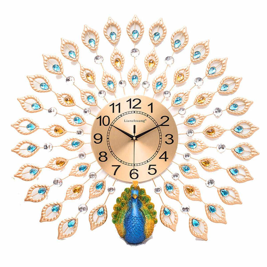 DIY 3D Special Shaped Diamond Painting Wall Clock Kit 60X60cm