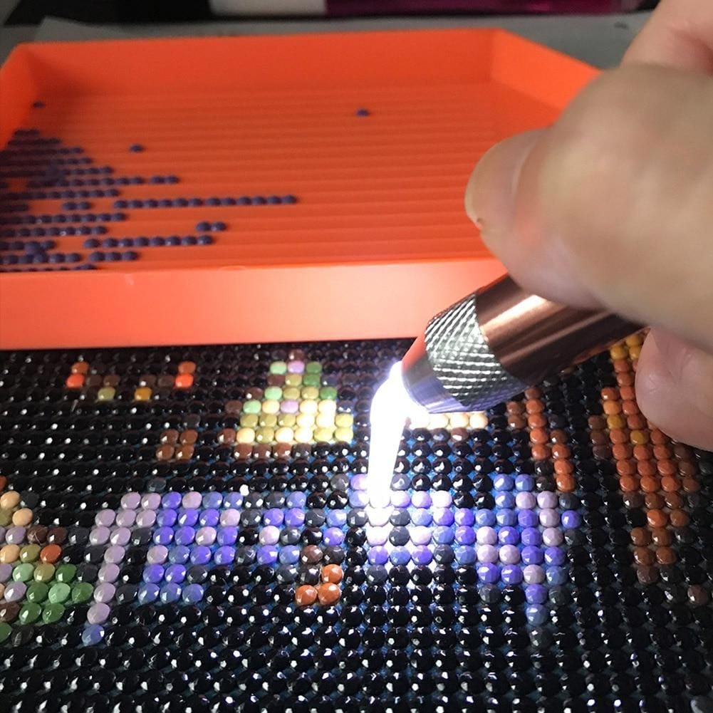 5 in 1  USB Rechargeable Lighted Diamond Painting Pen