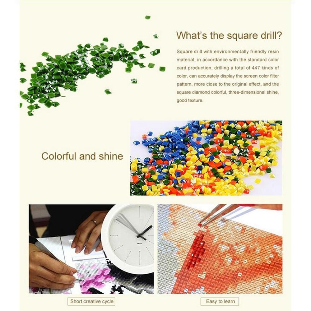 DIY 5D Diamond Painting Kit - Former President Party