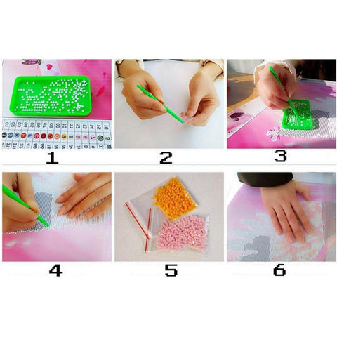 Image of DIY 5D Diamond Painting Kit - Country Rural Life