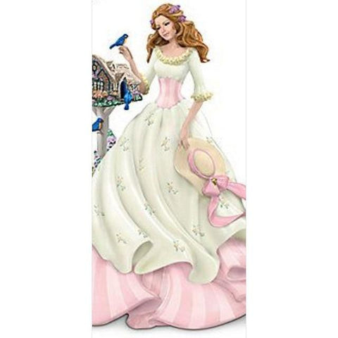 DIY 5D Diamond Painting Kit - Doll Silhouette Craft 50 x 50cm