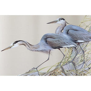 5D DIY Diamond Painting Kit - Wading Blue Heron