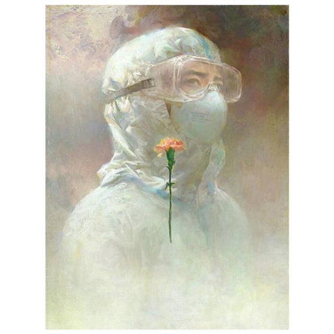 Image of DIY 5D Diamond Painting Kit - Angel Nurse Doctors