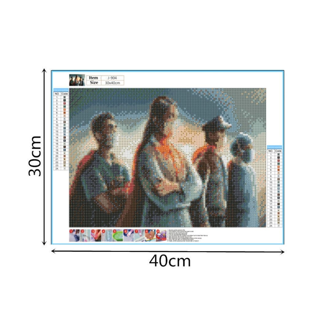 DIY 5D Diamond Painting Kit - We Can Do It!