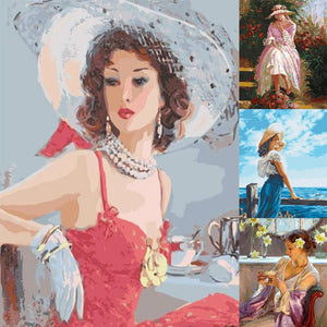 5D DIY Diamond Painting Kit - Elegance & Grace