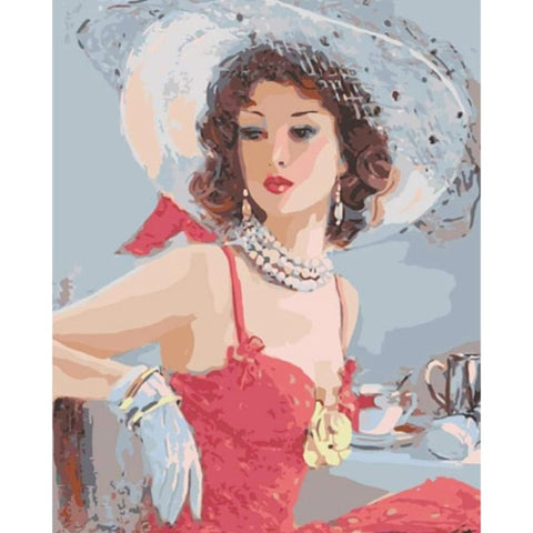 Image of 5D DIY Diamond Painting Kit - Elegance & Grace