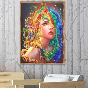 5D DIY Special Shaped Diamond Painting Kit - Beauty Mushroom