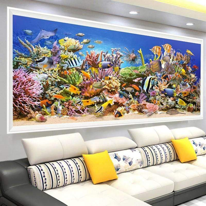 """Rich Coral Reef"" 