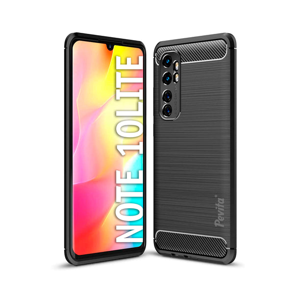 Funda Móvil Pevita | Xiaomi Redmi Note 10 Lite | TPU - Flexible - Carbono