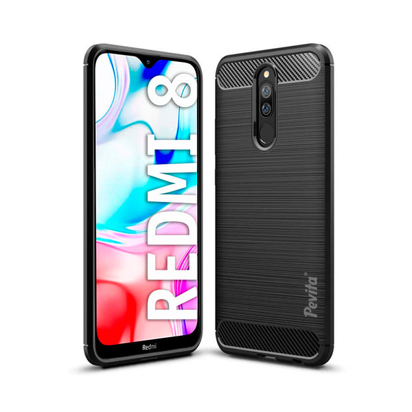 Funda Móvil Pevita | Xiaomi Redmi 8 | TPU - Flexible - Carbono